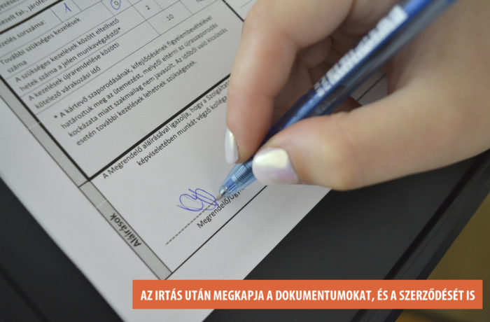 13. Szerződés aláírás
